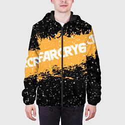 Куртка с капюшоном мужская Far Cry 6 цвета 3D-черный — фото 2