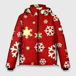 Куртка зимняя мужская Snow цвета 3D-черный — фото 1