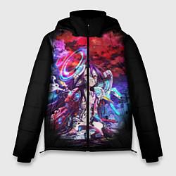 Куртка зимняя мужская No Game No Life Zero цвета 3D-черный — фото 1