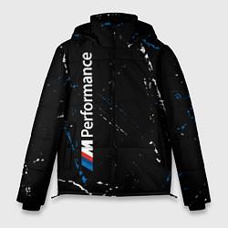 Куртка зимняя мужская BMW БМВ цвета 3D-черный — фото 1