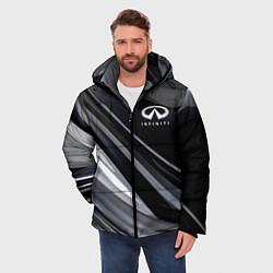 Куртка зимняя мужская Infiniti цвета 3D-черный — фото 2