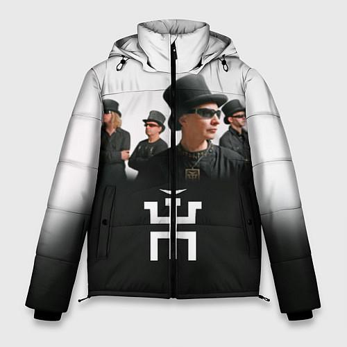 Мужская зимняя куртка Пикник / 3D-Черный – фото 1