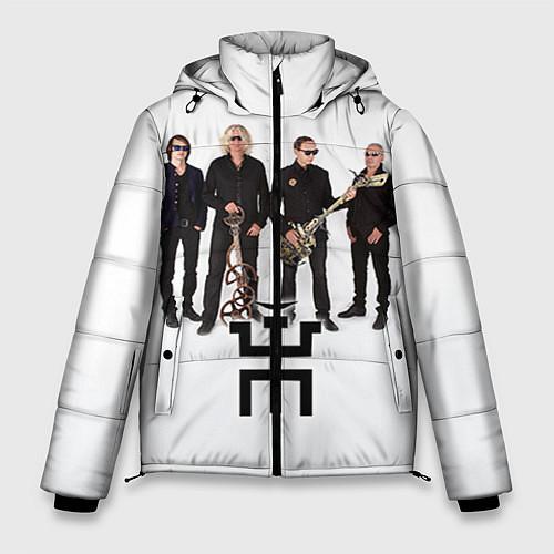 Мужская зимняя куртка Группа Пикник / 3D-Черный – фото 1