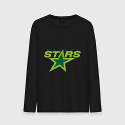 Лонгслив хлопковый мужской Dallas Stars цвета черный — фото 1