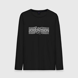 Лонгслив хлопковый мужской Joy Division цвета черный — фото 1