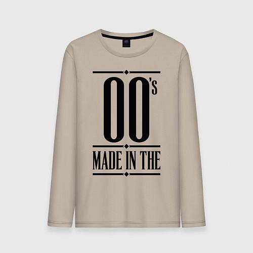 Мужской лонгслив Made in the 00s / Миндальный – фото 1