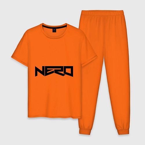 Мужская пижама Nero / Оранжевый – фото 1