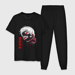 Пижама хлопковая мужская TOKYO GHOUL цвета черный — фото 1
