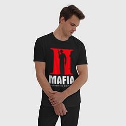 Пижама хлопковая мужская MAFIA 2 DEFINITIE EDITION цвета черный — фото 2