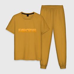 Пижама хлопковая мужская FAR CRY 6 цвета горчичный — фото 1