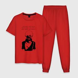 Пижама хлопковая мужская NEVER TRUST Tokyo Ghoul цвета красный — фото 1