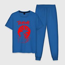 Пижама хлопковая мужская BERSERK цвета синий — фото 1