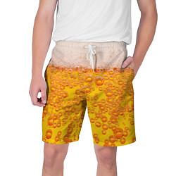 Шорты на шнурке мужские Пивная тема цвета 3D — фото 1