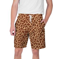 Шорты на шнурке мужские Жираф цвета 3D — фото 1