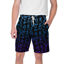 Шорты на шнурке мужские Blue Runes цвета 3D — фото 1