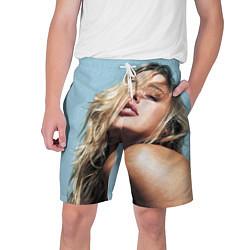 Мужские шорты Страстная девушка, красивая