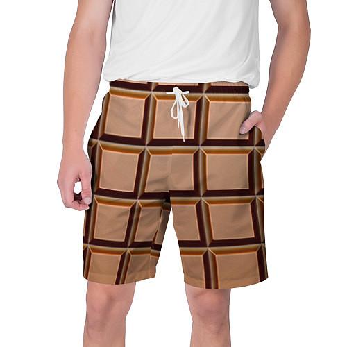 Мужские шорты Шоколад / 3D – фото 1