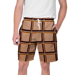 Мужские шорты Шоколад