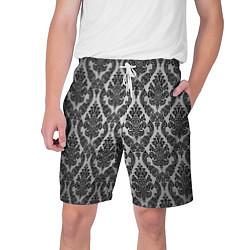 Шорты на шнурке мужские Гламурный узор цвета 3D — фото 1