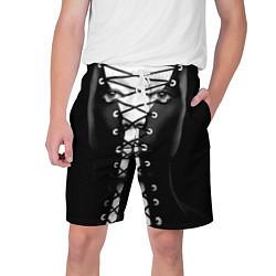 Шорты на шнурке мужские Шнуровка цвета 3D — фото 1