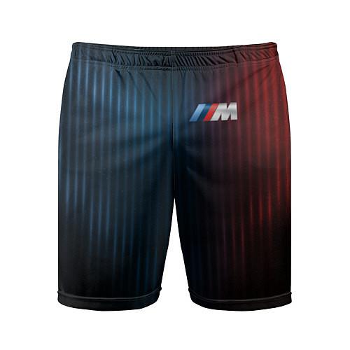 Мужские спортивные шорты BMW M / 3D – фото 1