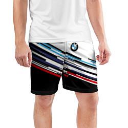 Шорты спортивные мужские BMW BRAND COLOR цвета 3D — фото 2
