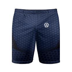 Шорты спортивные мужские Volkswagen: Sport Motors цвета 3D — фото 1