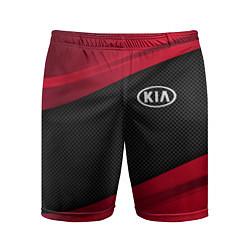 Шорты спортивные мужские Kia: Red Sport цвета 3D — фото 1