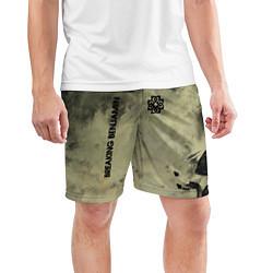 Шорты спортивные мужские Breaking Benjamin цвета 3D — фото 2