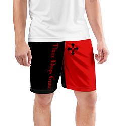 Шорты спортивные мужские Three Days Grace цвета 3D — фото 2