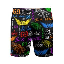 Шорты спортивные мужские 6IX9INE цвета 3D — фото 1