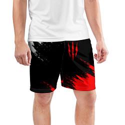 Шорты спортивные мужские ВЕДЬМАК 3 ГЕРАЛЬТ КОГОТЬ цвета 3D — фото 2