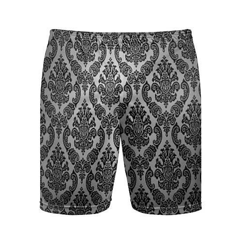 Мужские спортивные шорты Гламурный узор / 3D – фото 1
