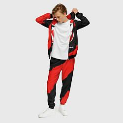 Костюм мужской CS:GO Red Style цвета 3D-черный — фото 2