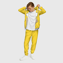 Костюм мужской Лицо Гомера цвета 3D-меланж — фото 2