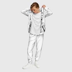 Костюм мужской Конор Макгрегор цвета 3D-белый — фото 2