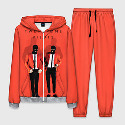 Костюм мужской Twenty One Pilots цвета 3D-меланж — фото 1