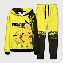 Костюм мужской Pikachu Pika Pika цвета 3D-черный — фото 1