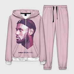 Костюм мужской LeBron James: Poly Violet цвета 3D-белый — фото 1