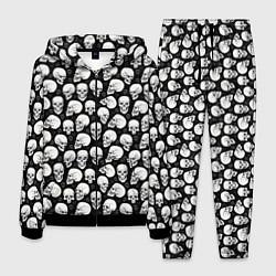 Костюм мужской Halloween цвета 3D-черный — фото 1
