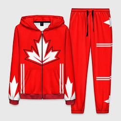 Костюм мужской Сборная Канады: домашняя форма цвета 3D-красный — фото 1