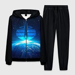 Костюм мужской Космические войска цвета 3D-черный — фото 1