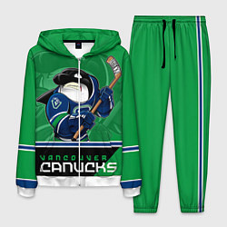 Костюм мужской Vancouver Canucks цвета 3D-белый — фото 1
