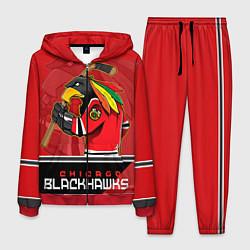 Костюм мужской Chicago Blackhawks цвета 3D-красный — фото 1