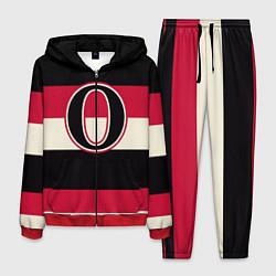Костюм мужской Ottawa Senators O цвета 3D-красный — фото 1