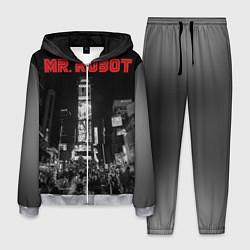 Костюм мужской Mr. Robot City цвета 3D-меланж — фото 1