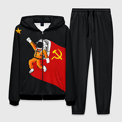 Костюм мужской Советский Гагарин цвета 3D-черный — фото 1