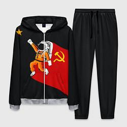 Костюм мужской Советский Гагарин цвета 3D-меланж — фото 1
