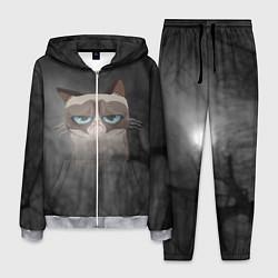 Костюм мужской Grumpy Cat цвета 3D-меланж — фото 1