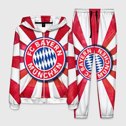 Костюм мужской FC Bayern цвета 3D-белый — фото 1